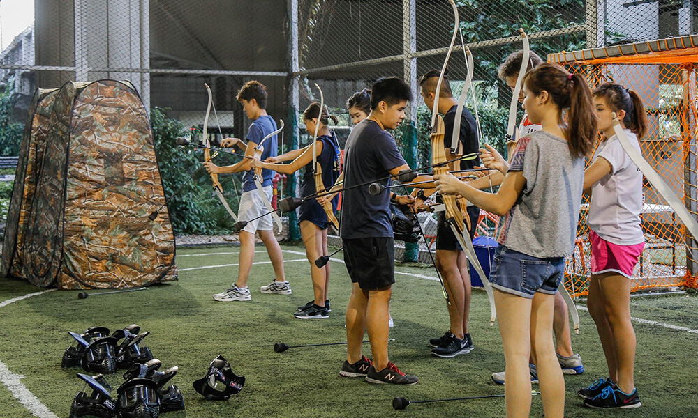 singapore-archery-tag-game
